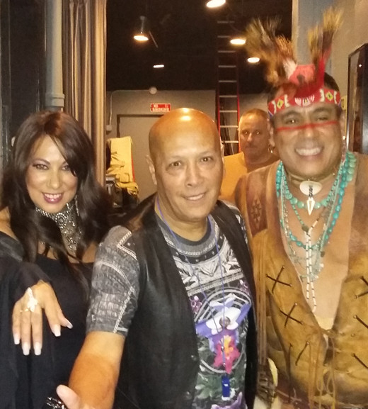 With Filipe Rose and Yvonne Elliman at at NYCB Theatre Westbury